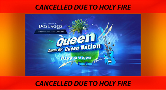 Queen Nation Concert Cancelled!