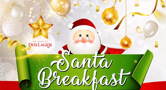 Breakfast With Santa 2018 The Shops At Dos Lagos