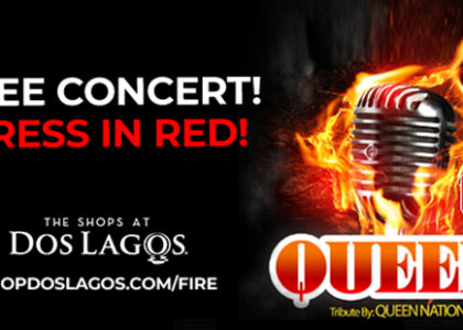 FREE Queen Tribute Concert – Corona Fire Safety Foundation Fundraiser!