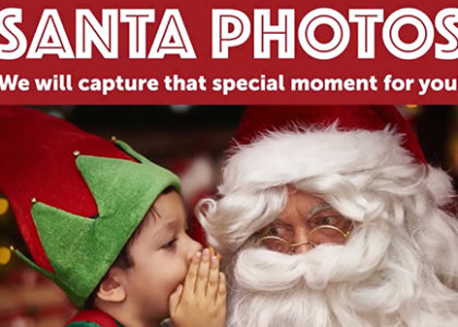 Santa Photos is Coming to Dos Lagos!
