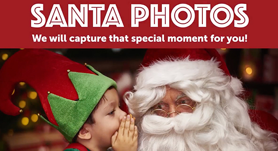 LIMITED TIME Santa Photos at Dos Lagos!