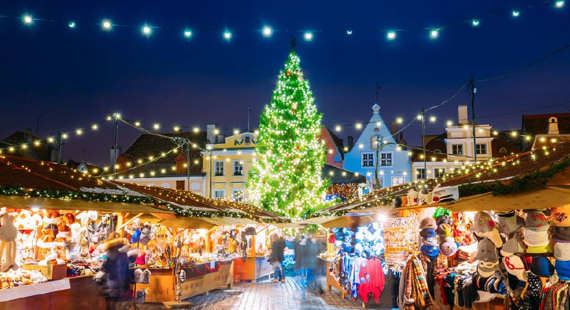 Christmas Market Night (MONDAYS) The