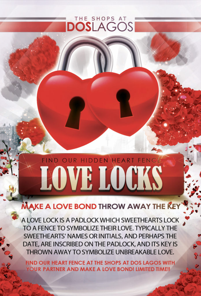 Love Locks & Fountain of Love! – The Shops at Dos Lagos