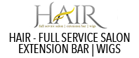 HAIR – FULL SERVICE SALON | EXTENSION BAR | WIGS