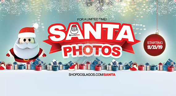 Santa Photos Now at Dos Lagos!